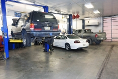 Our Service Bays at Amtech Auto Care Inc.